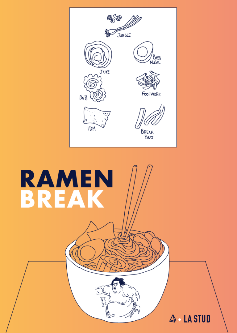 La playlist Ramen Break par la Stud